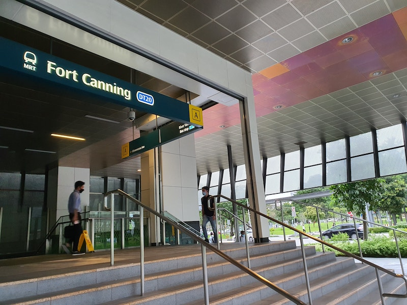 Fort Canning MRT Station Super Near To Canninghill Piers Condo Integrated Mixed Development at River Valley Clarke Quay by CDL and CapitaLand