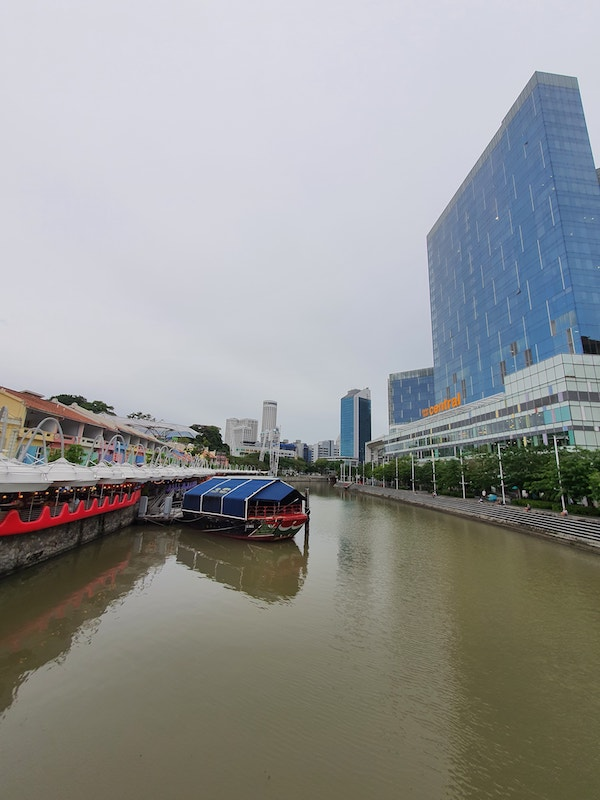 Singapore River Around The Corner of Canninghill Piers Condo Integrated Mixed Development at River Valley Clarke Quay by CDL and CapitaLand